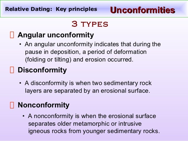 two types of relative dating