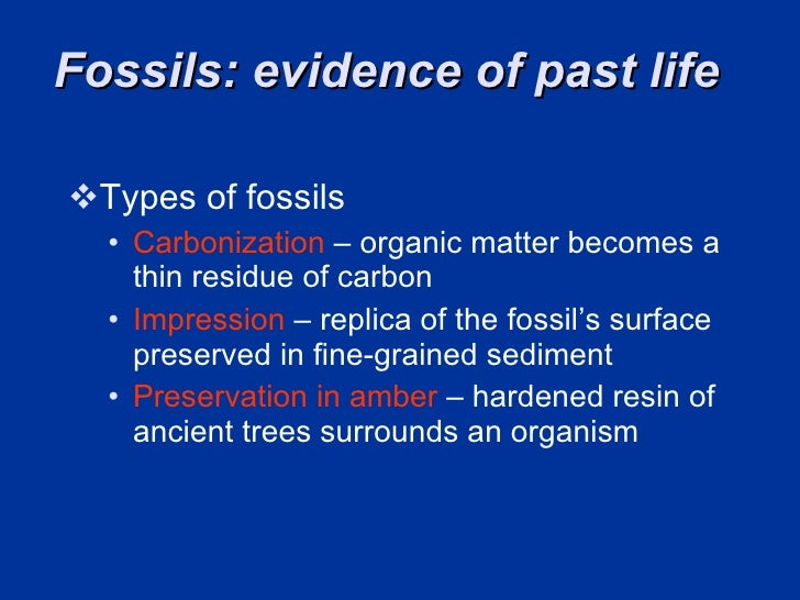 Carbon dating summary