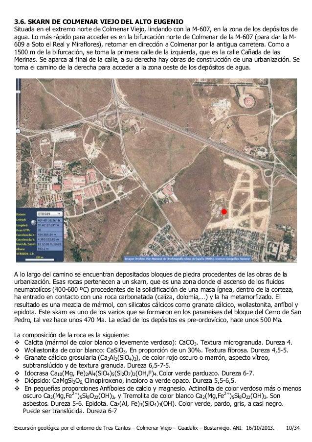 Ruta geol gica sierra de madrid for Calle prado panetes 10 guadalix de la sierra