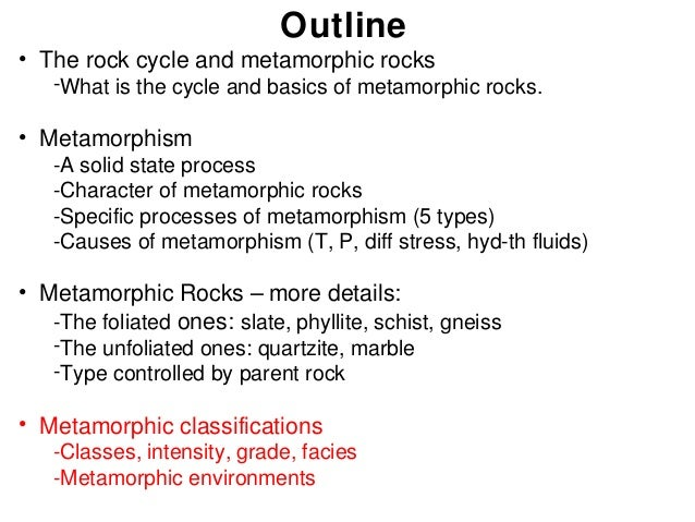 Geology Lecture 9