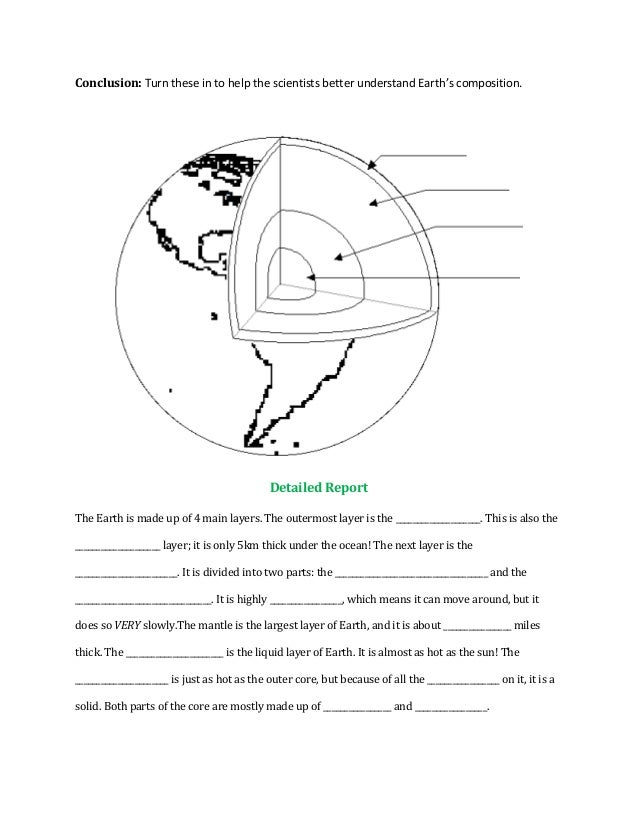 Geology Webquest
