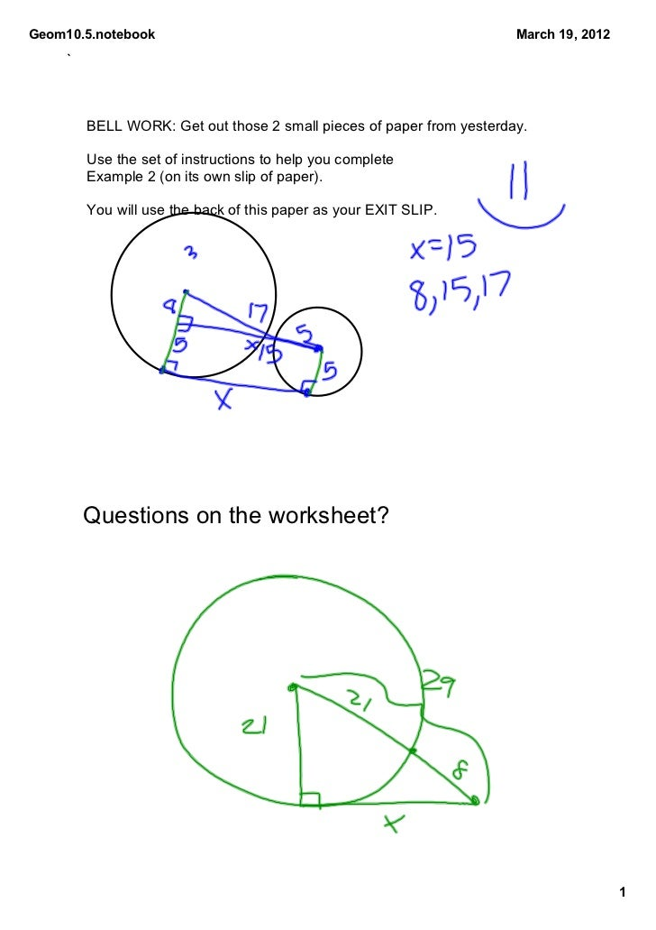 Geom10.5.notebook                                                      March19,2012     `         BELLWORK:Getouttho...