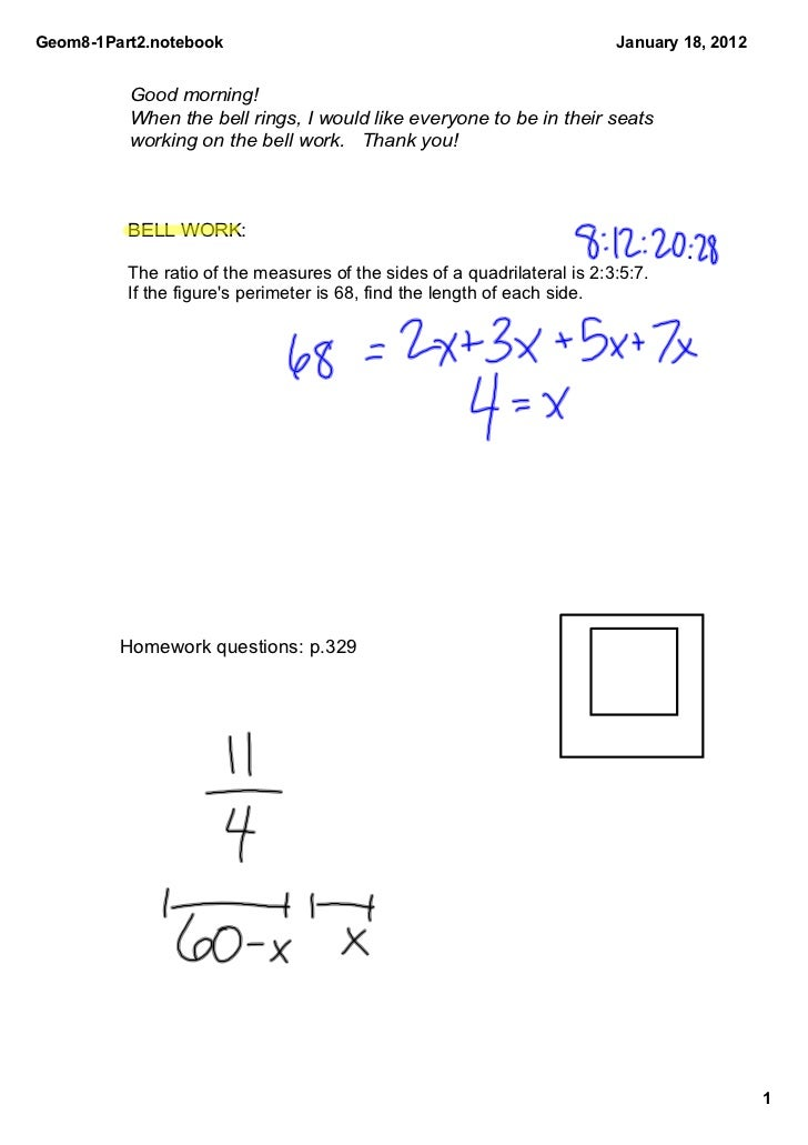 Geom81Part2.notebook                                                     January18,2012          Goodmorning!        ...