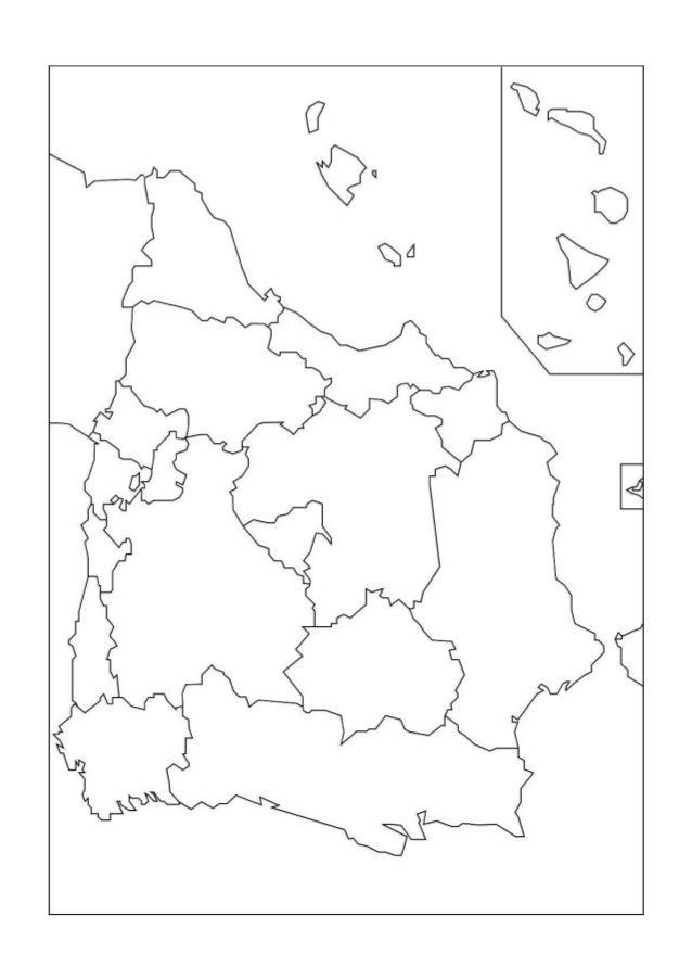 Mapa De Comunidades Autonomas De España Mudo.Mapas Mudos Geografia De Espana