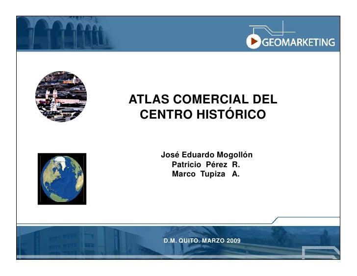 Geomarketing Y Atlas Comercial Slide 2