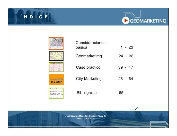 Geomarketing Y Atlas Comercial Slide 3