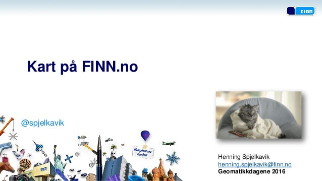 kart finn no Geomatikkdagene 2016   Kart på FINN.no