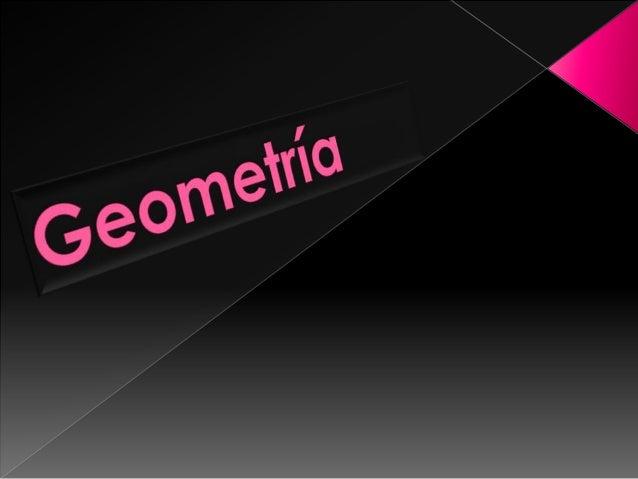 Es la parte de la Matemática Elemental que trata de las propiedades y medidas de la extensión. La Geometría parte de ciert...