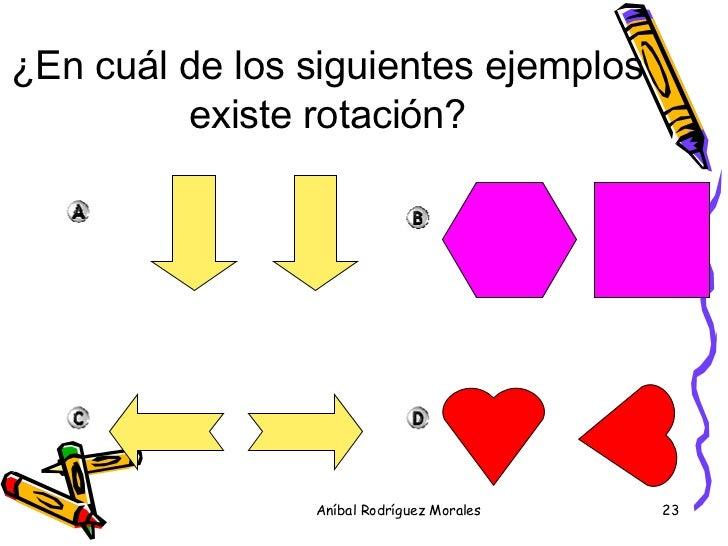 Resultado de imagen para rotacion traslacion ejercicios