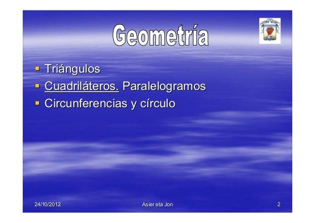 Geometría Slide 2