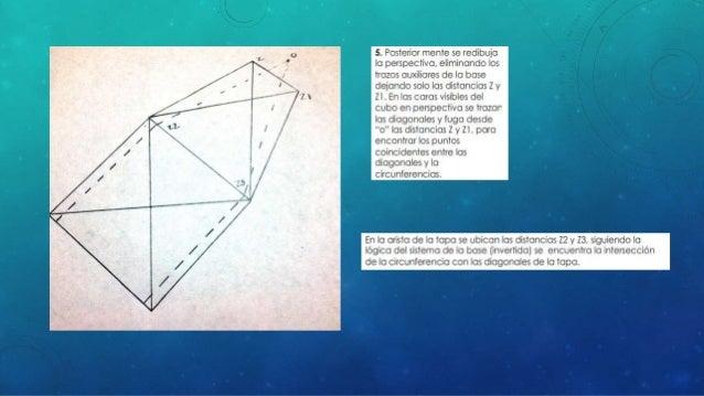 Perspectiva del círculo Final Papel bond (borrador) Lámina final albanene (cambio de óvalo)