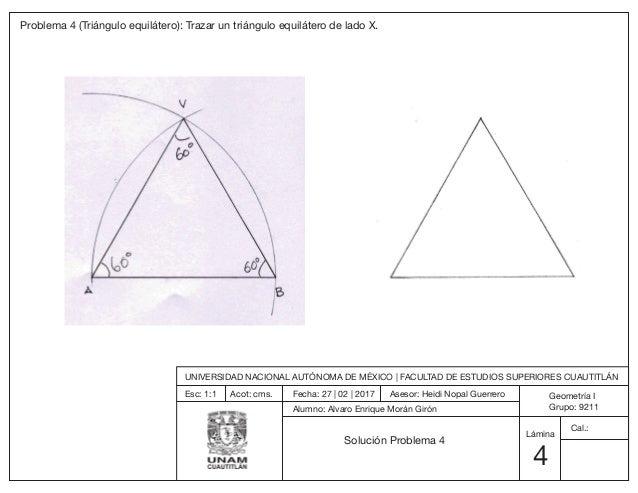 Geometría i – unidad 3 – tema 2