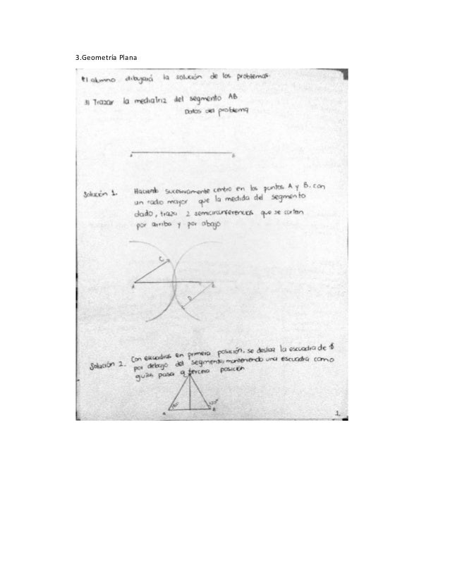 3.Geometría Plana