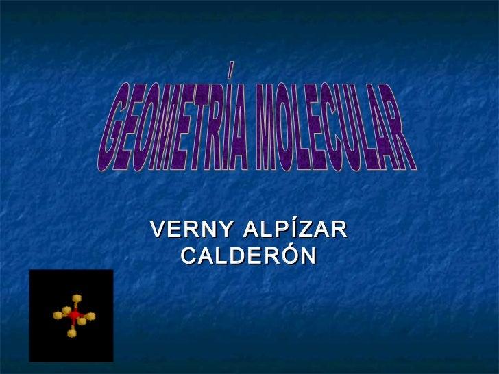 VERNY ALPÍZAR  CALDERÓN