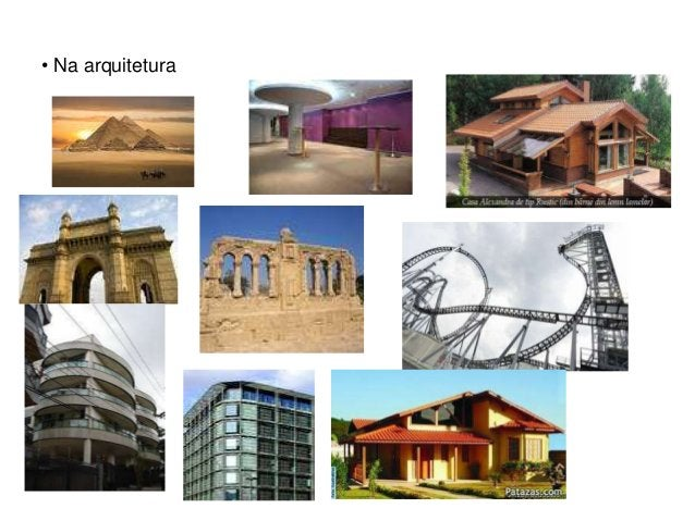 • Na arquitetura