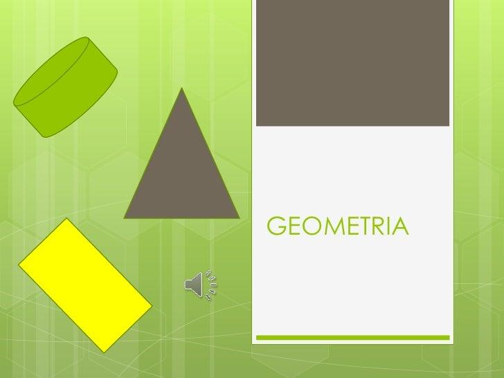 GEOMETRIA<br />