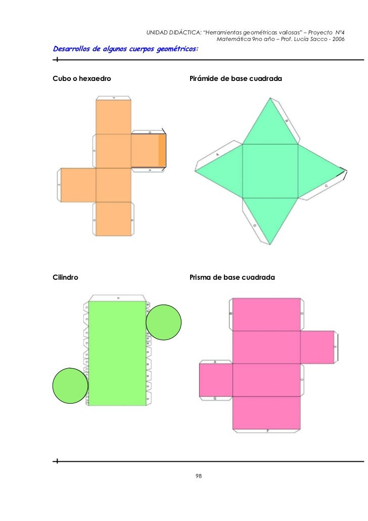 Geometria for Sillas para armar y recortar