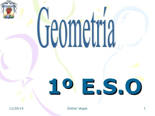 11º EE..SS..OO  11/25/14 Esther Vegas 1