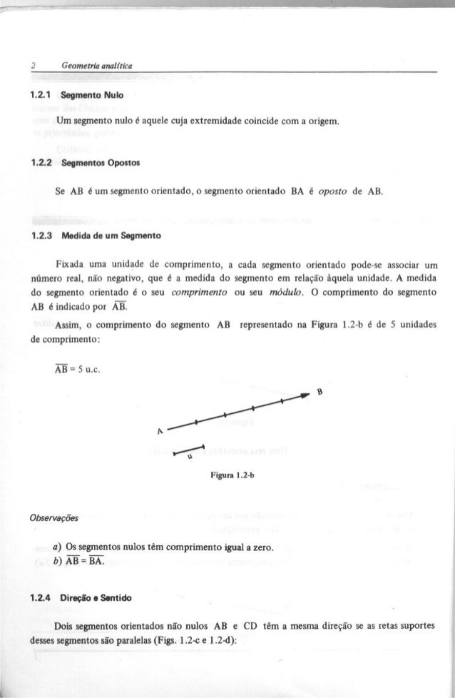 Geometria Analitica - Steinbruch E Winterle Pdf