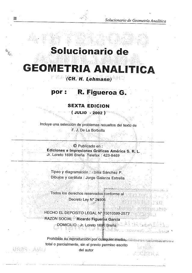 solucionario geometria analitica lehman Slide 2
