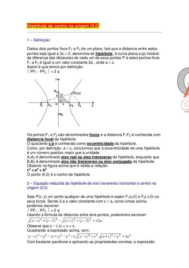 CASCAVEL – CEARÁ - BRASIL  22. Hipérbole de ... 20e01f90f885a