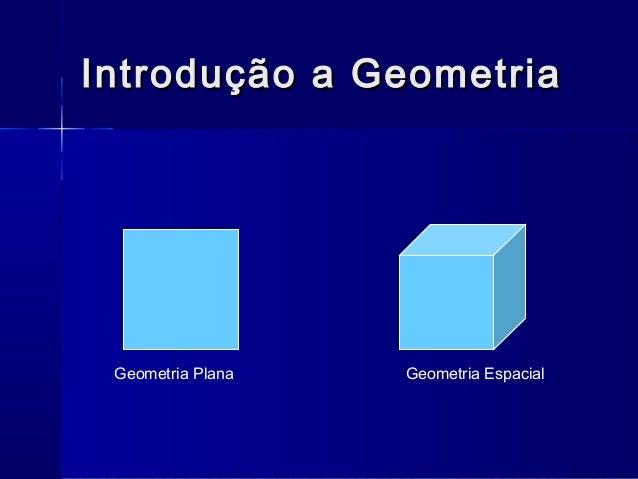 Geometria de posição Slide 2
