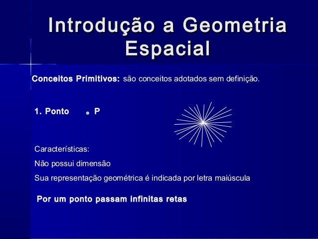 Geometria de posição Slide 3