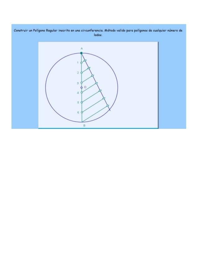Construcion de un pentagono a partir de una recta