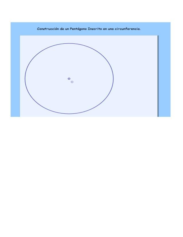 Construir un decágono regular que tenga como lado el segmento AB.