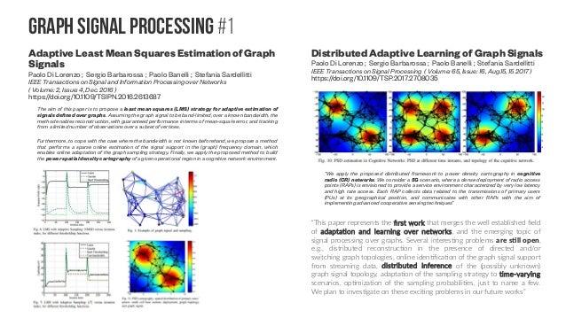 Graph signal Processing #2 Kernel Regression for Signals over Graphs Arun Venkitaraman, Saikat Chatterjee, Peter Händel (S...