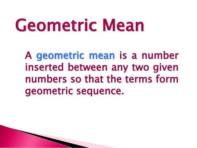 Geometric Sequence