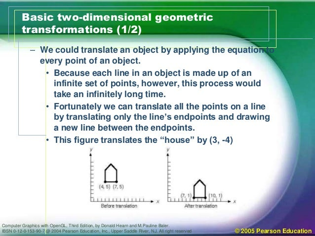 Geometric transformation 2d chapter 5