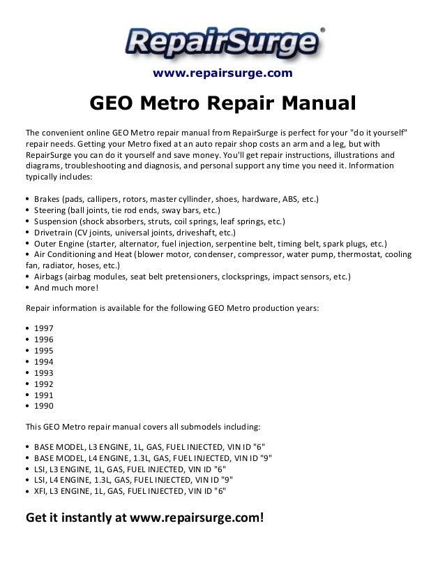 Geo Metro Engine Diagram - Data Wiring Diagrams •