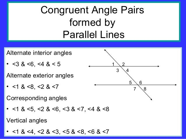 Geometry 1197608937694019 4 - Definition of alternate exterior angles ...
