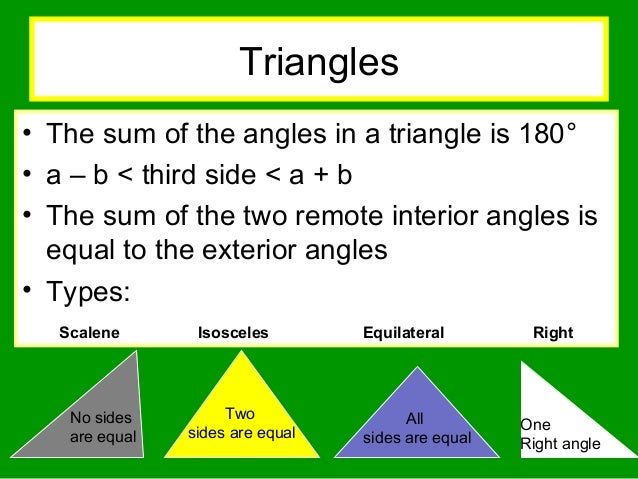 Geometry 1197608937694019 4 - Sum of all exterior angles of a triangle ...
