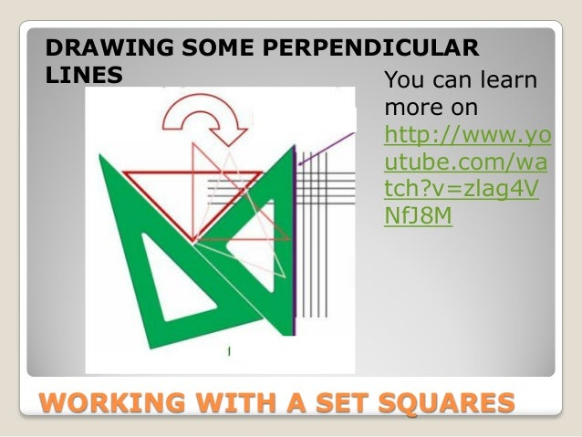 Drawing Perpendicular Lines With A Compass : Geometry basic definitions
