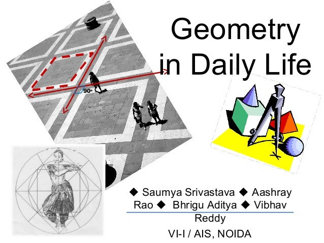 geometric shapes in daily life