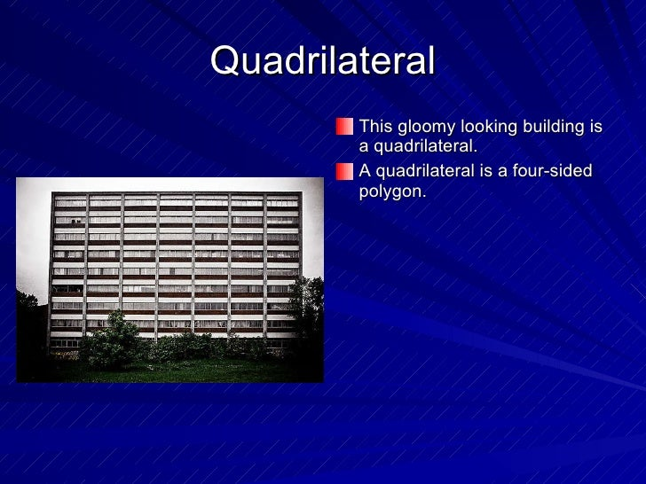 quadrilaterals in daily life - photo #41
