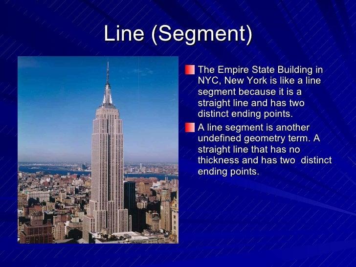 Line Segment Real Life Example Line  Segment  ulliThe