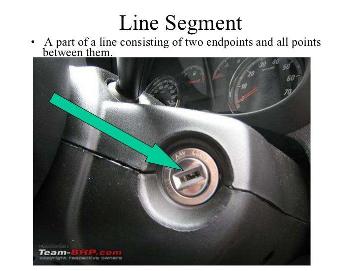 Line Segment Real Life Example Line Segment ulliA part of