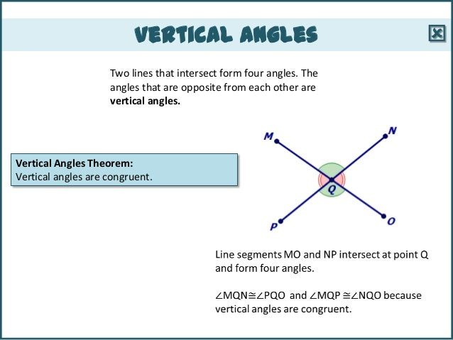 Definition Of Vertical Angles | www.imgkid.com - The Image ...