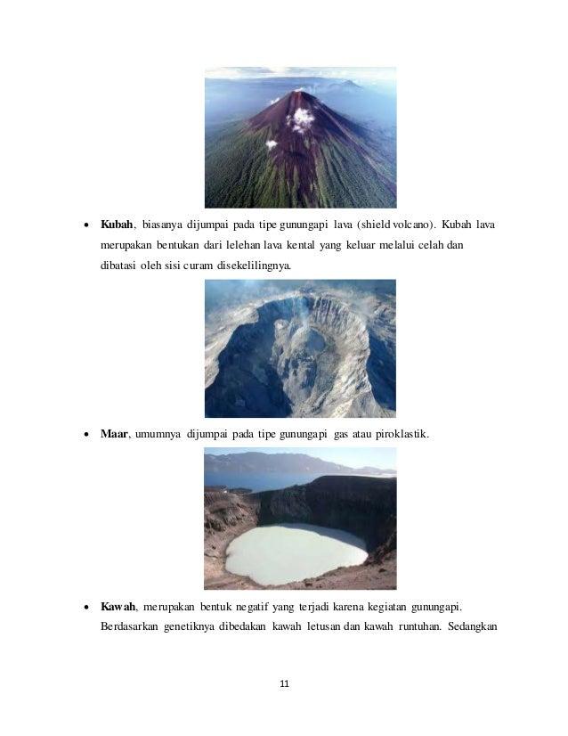 Geomorf 7 Geomorfologi Gunung Api