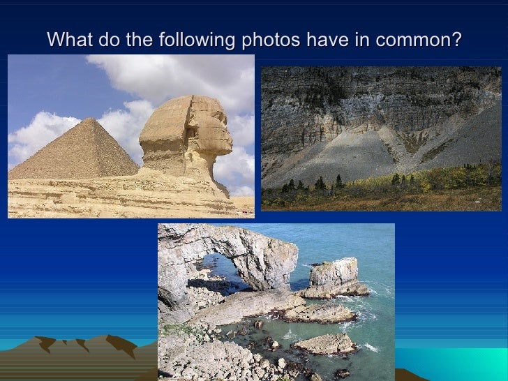 What do the following photos have in common?