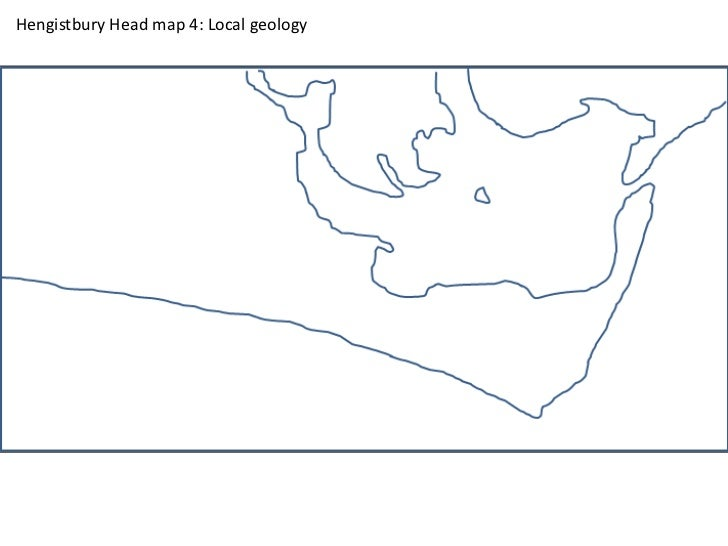 Hengistbury Head map 4: Local geology