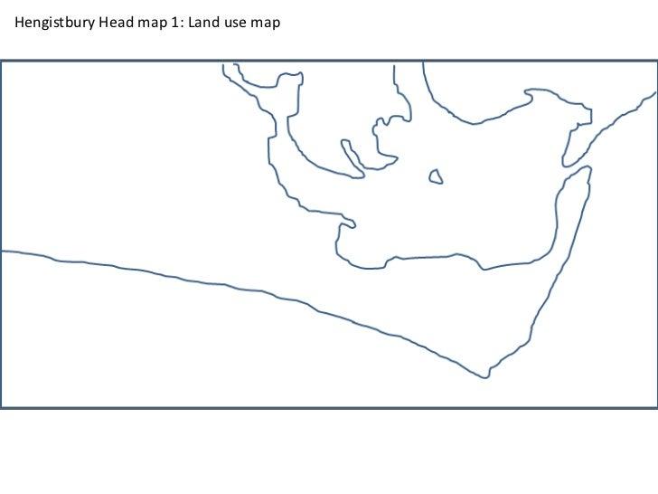 Hengistbury Head map 1: Land use map