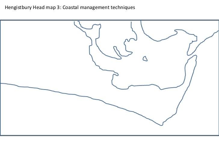 Hengistbury Head map 3: Coastal management techniques