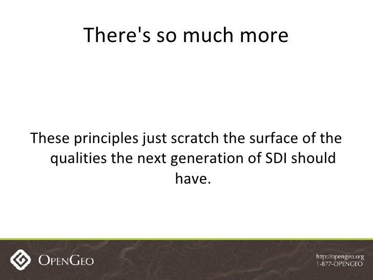 Spatial Data Infrastructure Best Practices with GeoNode