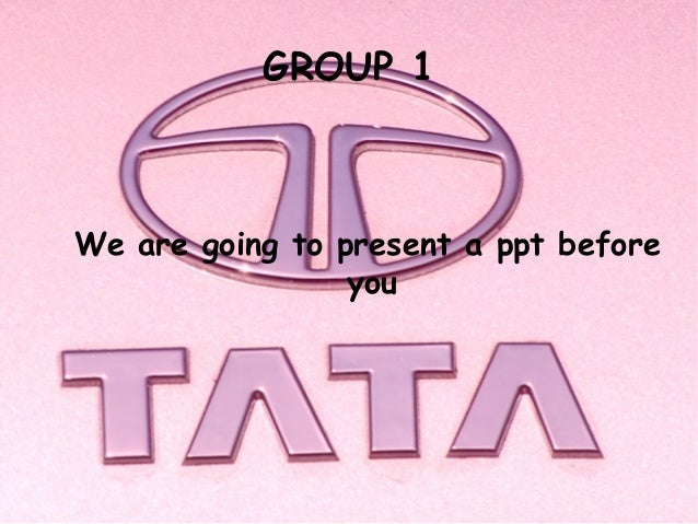 GROUP 1We are going to present a ppt before                 you