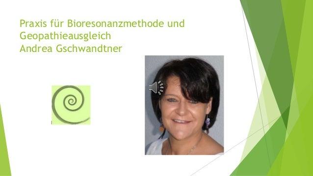Praxis für Bioresonanzmethode und Geopathieausgleich Andrea Gschwandtner