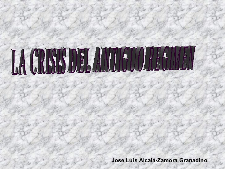 Jose Luis Alcalá-Zamora Granadino